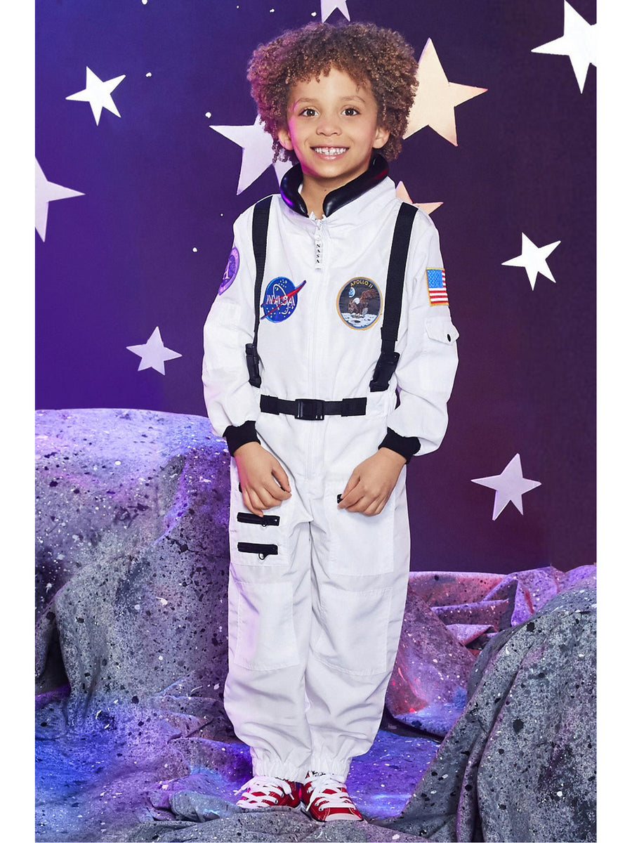 White Jr. Astronaut Suit for Kids