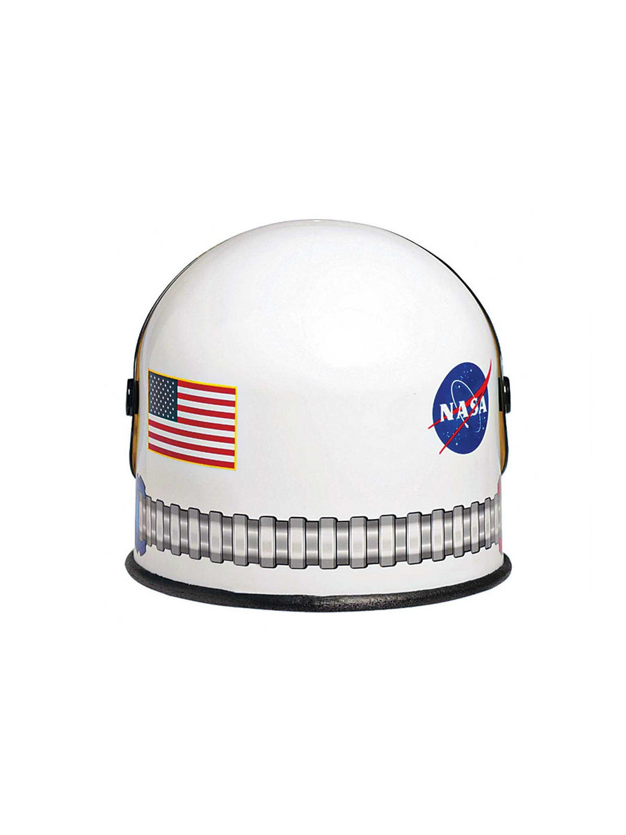 White NASA Astronaut Helmet for Kids