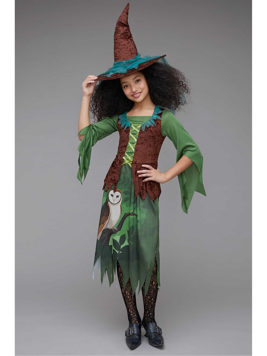 Wild Woods Witch Costume for Girls