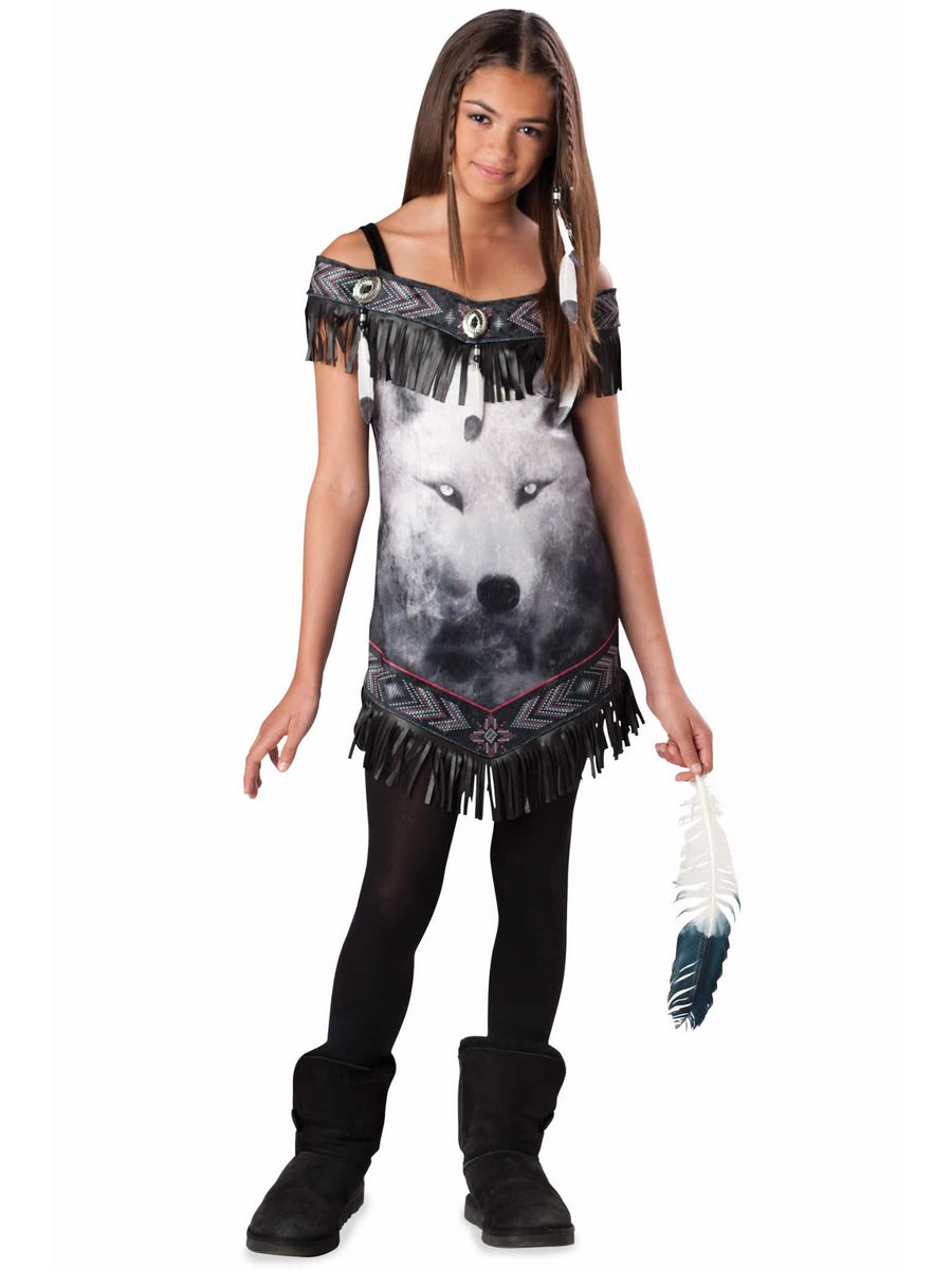 Wolf Spirit Costume For Girls