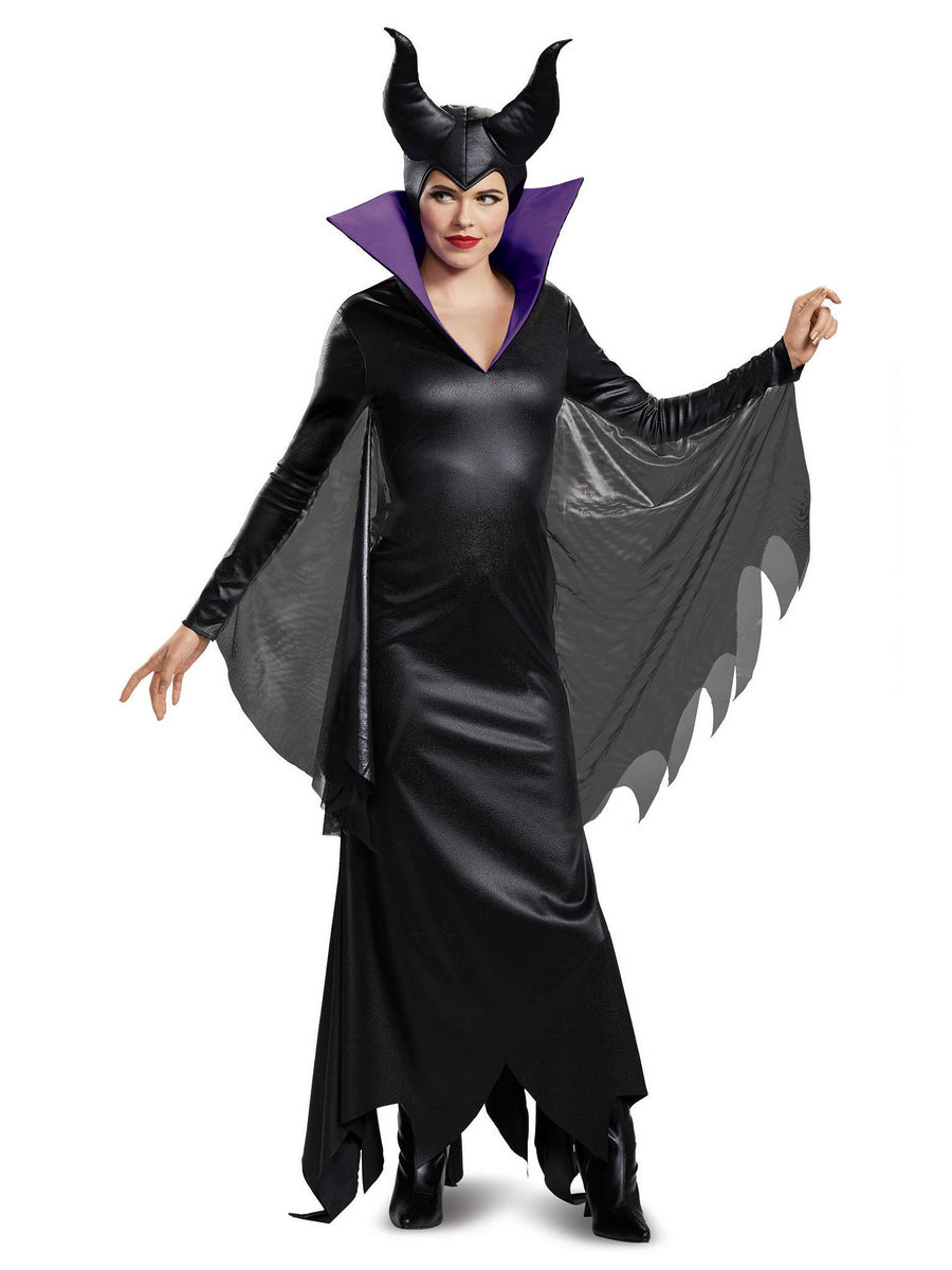 Womens Maleficent Glam Deluxe Costume