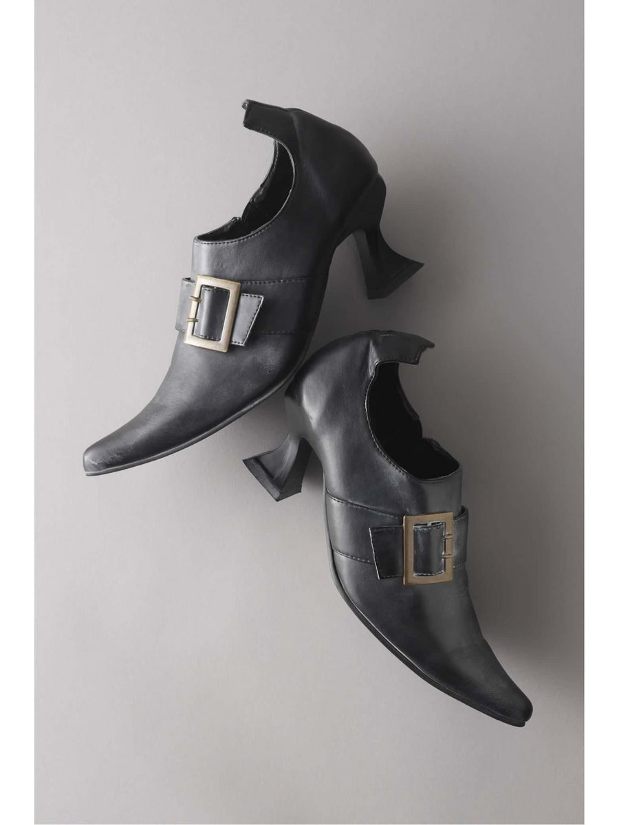 Womens Pointy Witch Shoes