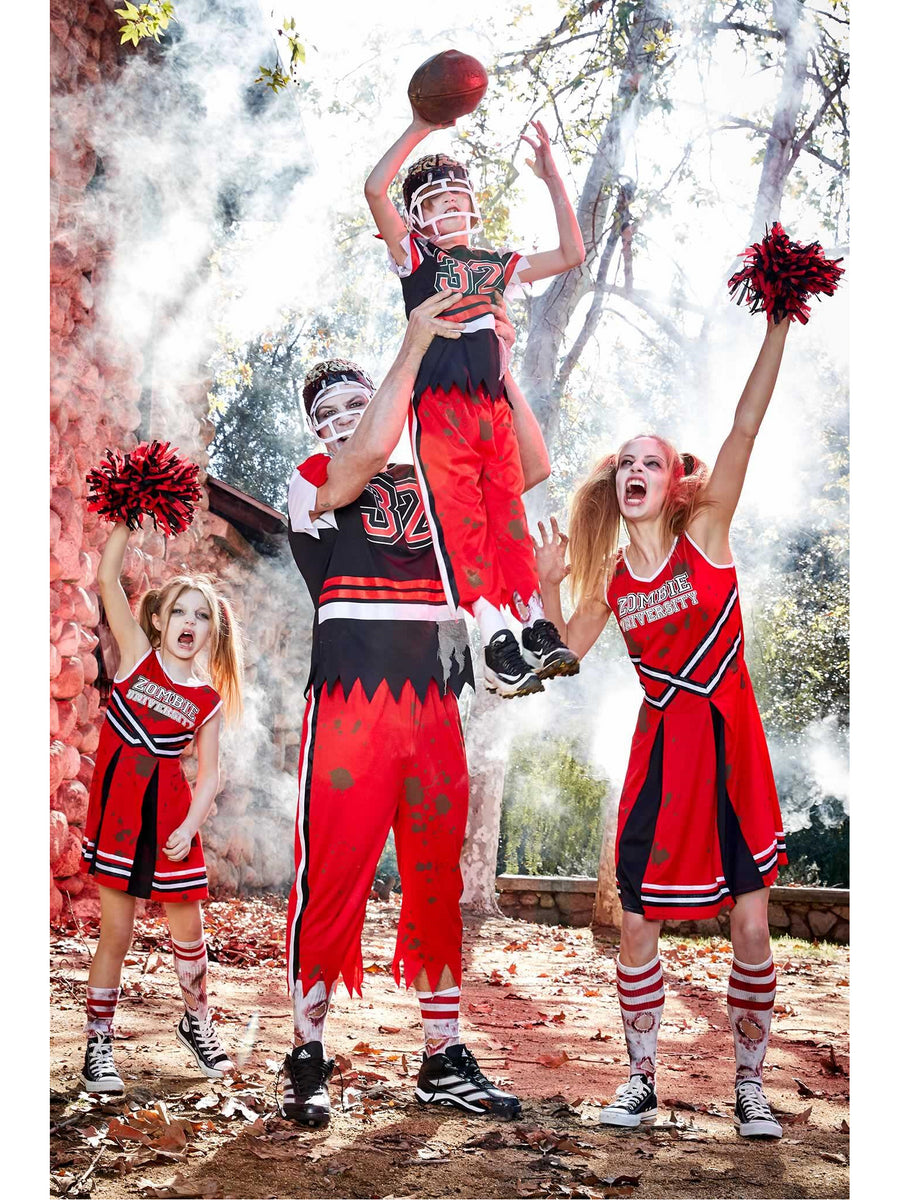 Zombie Cheerleader Costume for Women