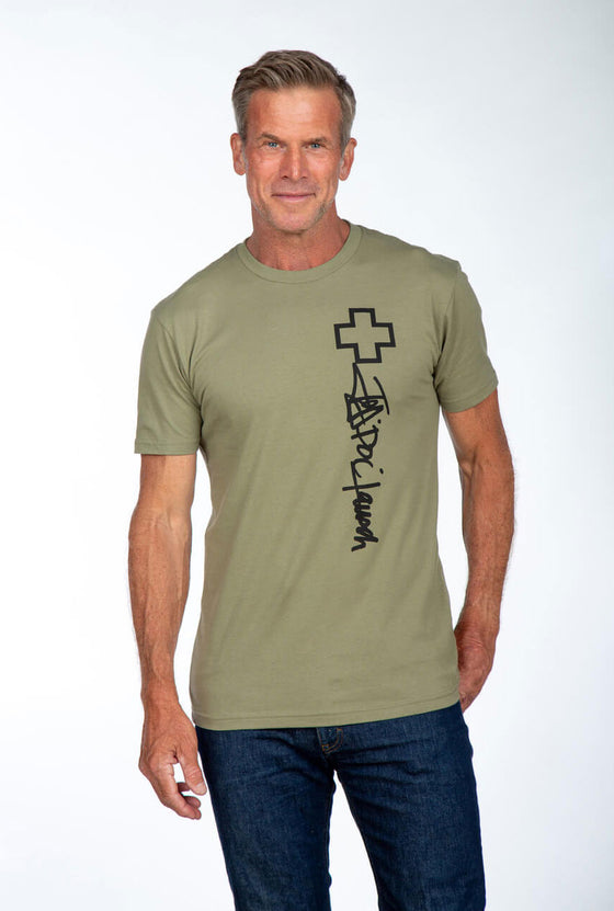 Doc Signature Olive Green Tee