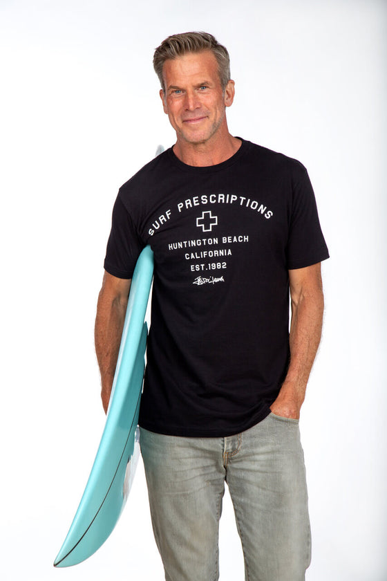 Surf Prescriptions Legend Black Tee