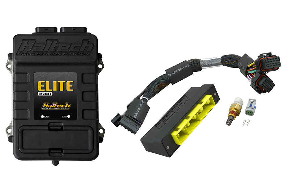 Elite 1500 with RACE FUNCTIONS - Plug 'n' Play Adaptor Harness ECU Kit - Mitsubishi Galant VR4 (Australian Delivered and JDM) & Eclipse 1G Turbo (JDM and NZDM)