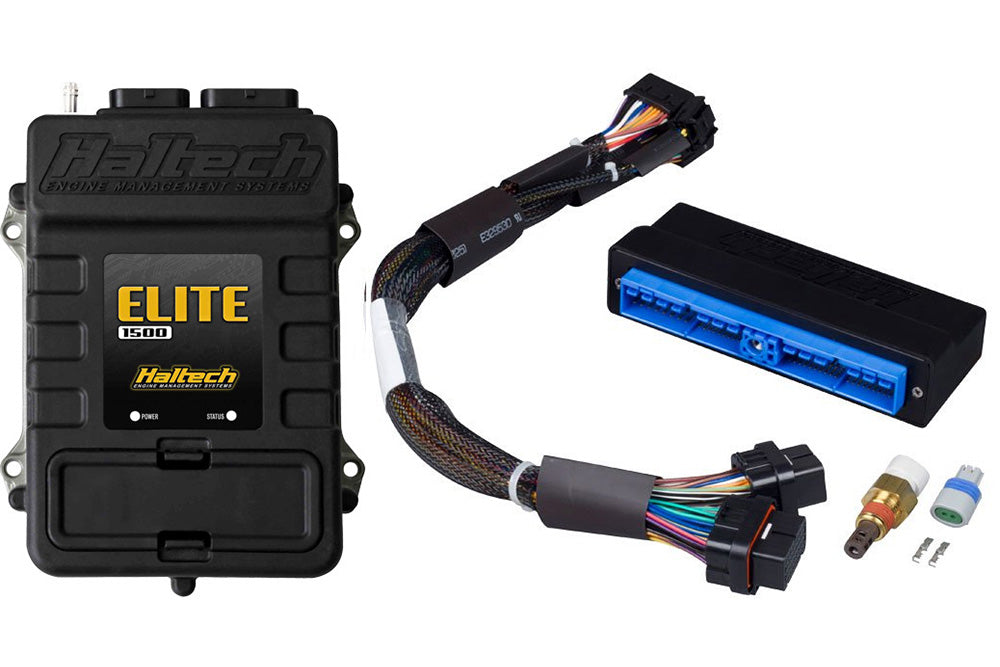 Elite 1500 with RACE FUNCTIONS - Plug 'n' Play Adaptor Harness ECU Kit- Nissan Silvia S13 and 180SX (SR20DET)