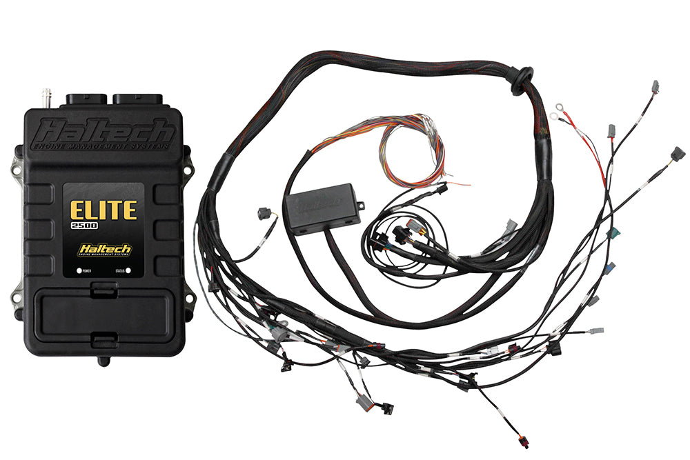 Elite 2500 with ADVANCED RACE FUNCTIONS - Toyota 2JZ Terminated Harness ECU Ki