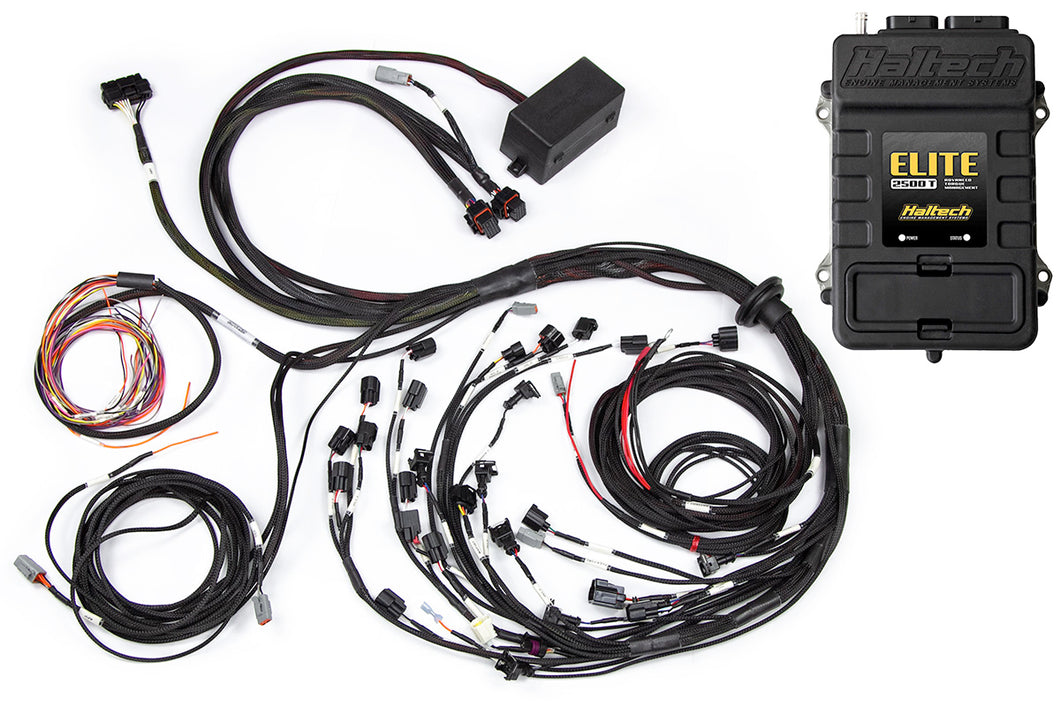Elite 2500 T with ADVANCED TORQUE MANAGEMENT & RACE FUNCTIONS - Ford Falcon FG Barra 4.0 Terminated Harness ECU Kit