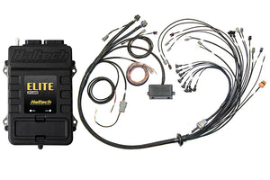 Elite 2500 & Race Expansion Module (REM) 16 Sequential Injector V8 Big Block/Small Block GM, Ford & Chrysler Hemi Terminated Harness ECU Kit