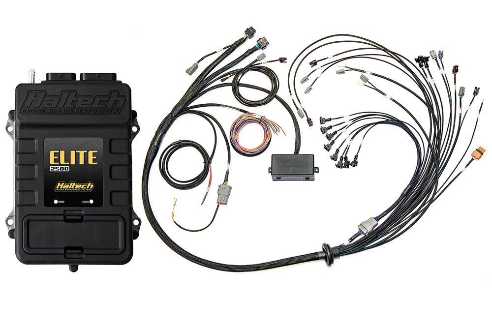 Elite 2500 with RACE FUNCTIONS - Ford Coyote 5.0 Terminated Harness ECU Kit