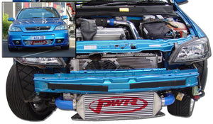 HOLDEN Astra '01-'04 500x204x68mm  Intercooler Kit with Single Thermo fan