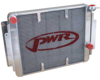 HOLDEN HD, HJ, HQ, HX, HZ  8CYL CHEV Crossflow 55mm Radiator suit Spal 16