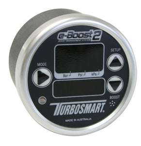 eBoost2 electronic boost controller 60psi 60mm Black Silver