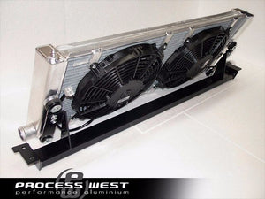 V-Mount Intercooler (suits Subaru 97-00 GC8 WRX/STI) - Intercooler setup only