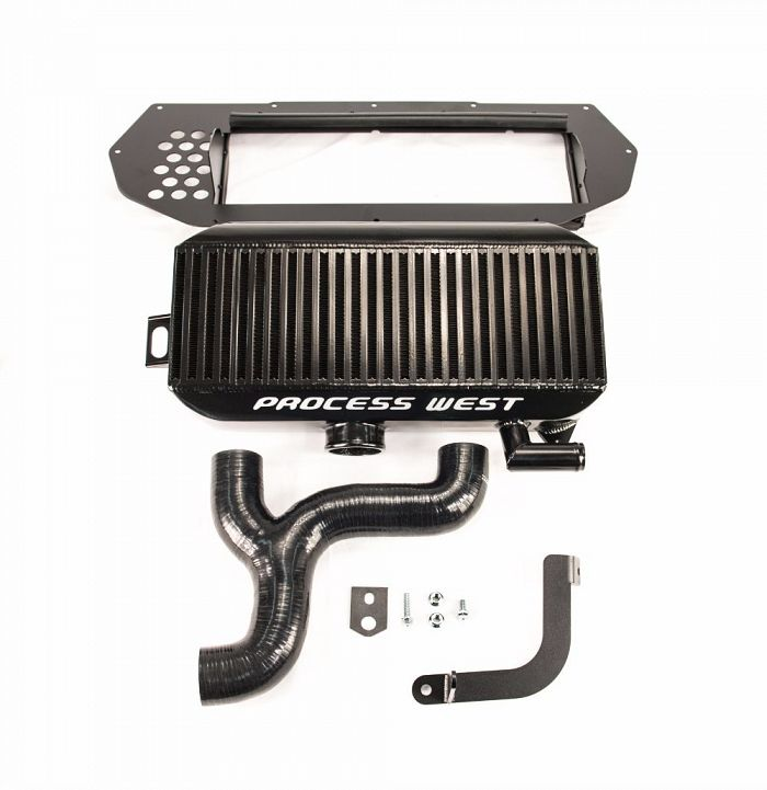 Top Mount Intercooler (suits Subaru 97-98 GC8 WRX/STI) - Black