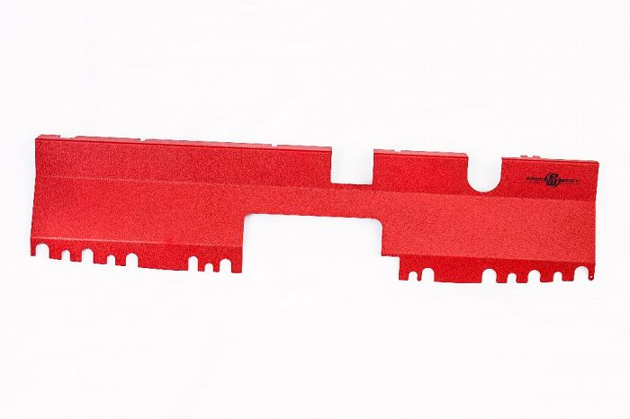 Radiator Cover (suits Subaru 15+ WRX/STI) (suits Intakes w/o Factory Inlet Chute) - Red