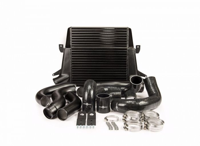 Stage 1 Intercooler Kit Black (Stepped Core) (suits Ford Falcon FG)