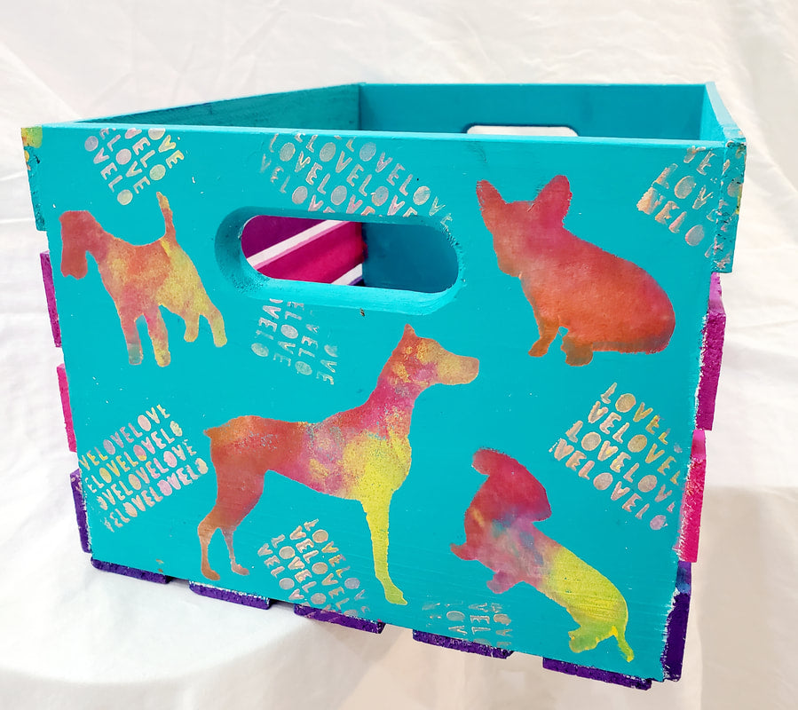 Dog Toy Crate Tutorial