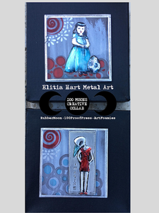 Bird Girls - Metal Embossing & Stamps
