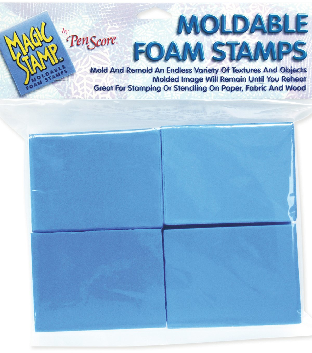 Clearsnap | Magic Stamp Moldable Foam Stamp Blocks