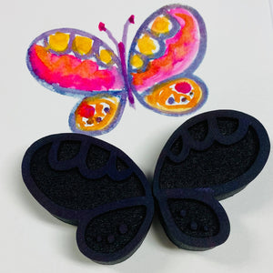 Mindy Lacefield | Fairy Wings | Foam Stamps - Set of 2