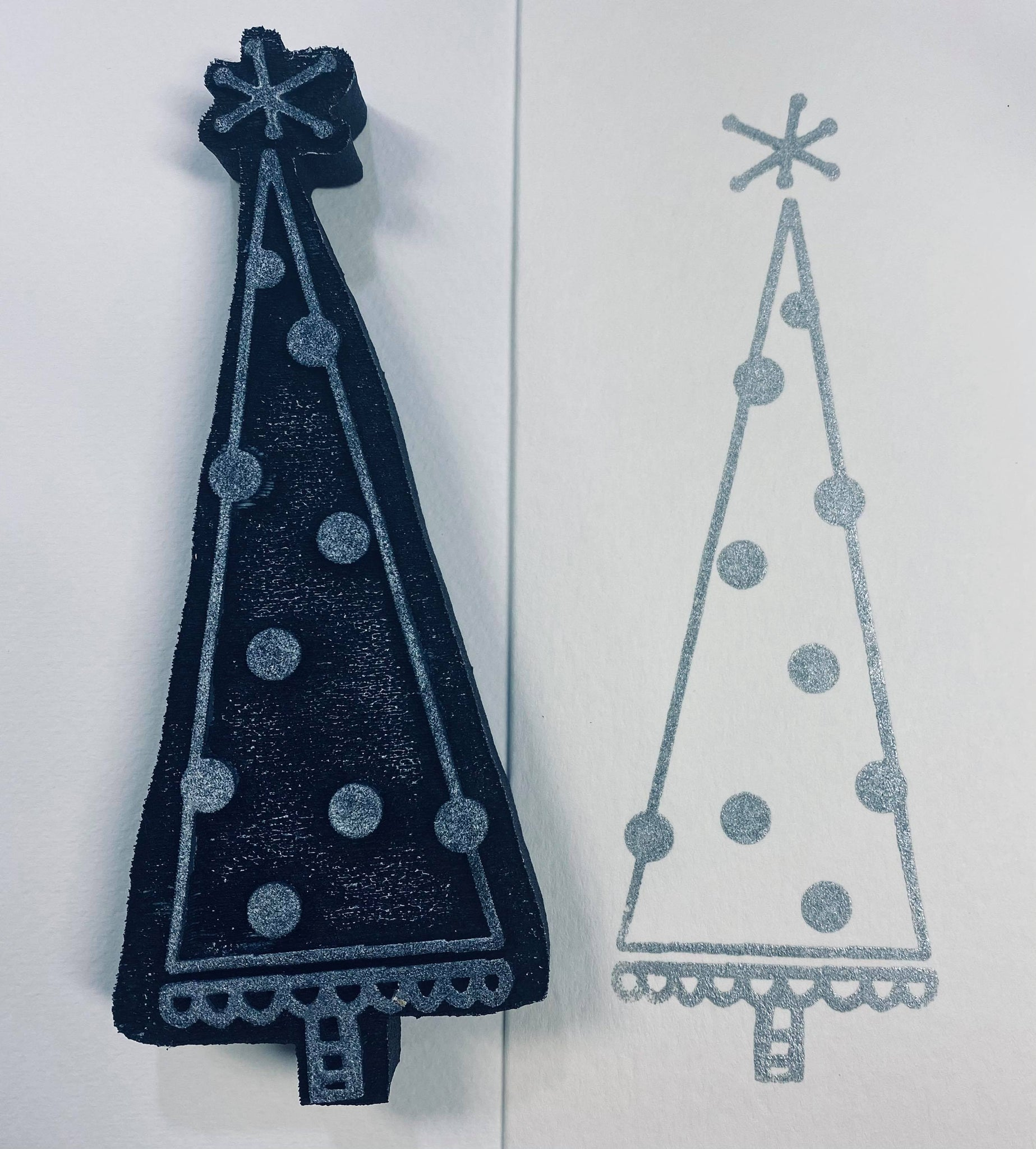 Kae Pea | Cheery Tree | Foam Stamp