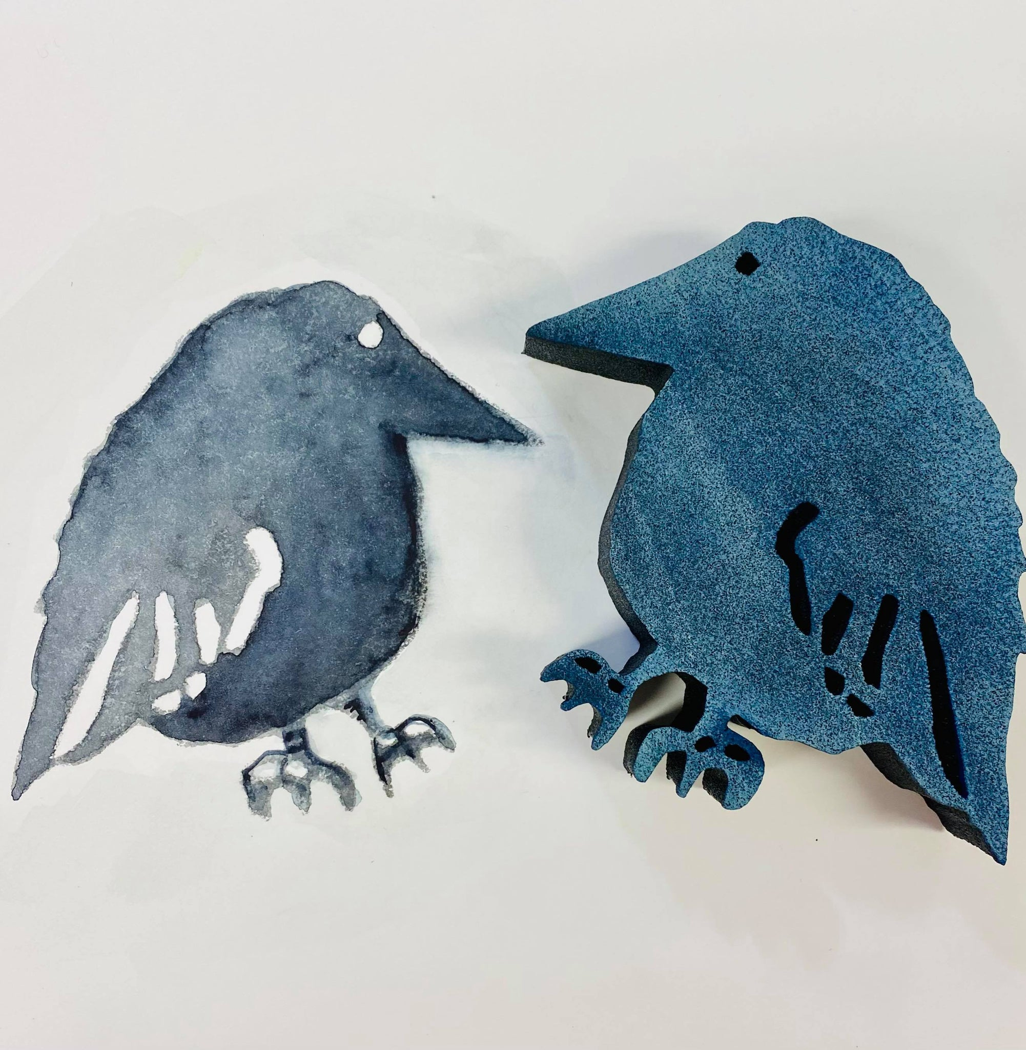 Marylinn Kelly | Crow About It | Foam Stamp