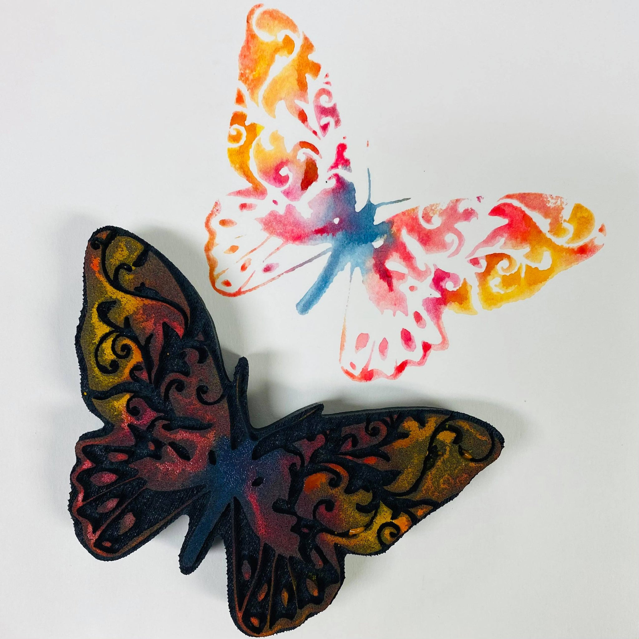 Donna Downey | Intricate Butterfly | Foam Stamp