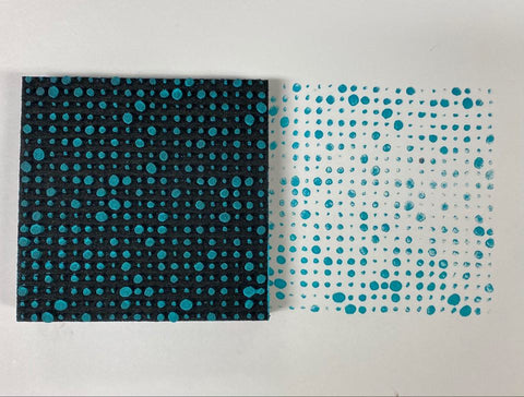 Donna Downey | Halftone Dots | Foam Stamp
