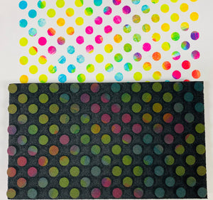 Donna Downey | Polka Dot Bar | Foam Stamp