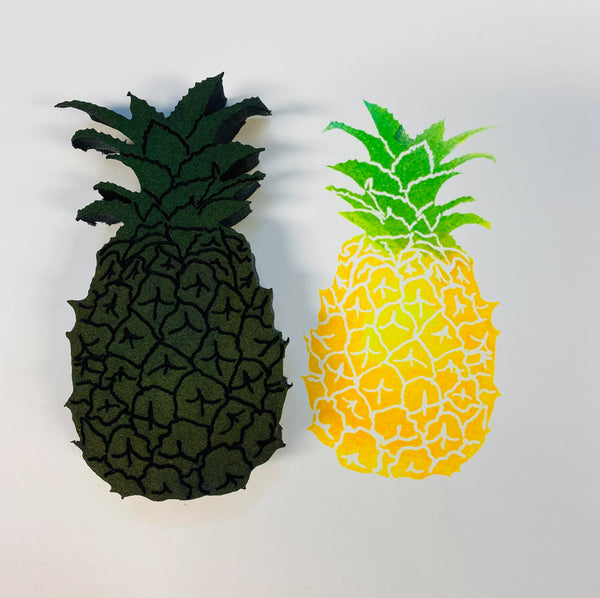 Emmie Roelofse | Pineapple | Foam Stamp