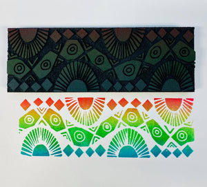 Emmie Roelofse | Tribal Pattern | Foam Stamp