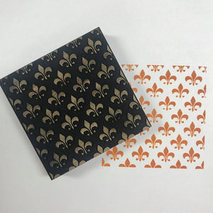 Ann Butler | Small Fleur De Lis Background | Foam Stamp