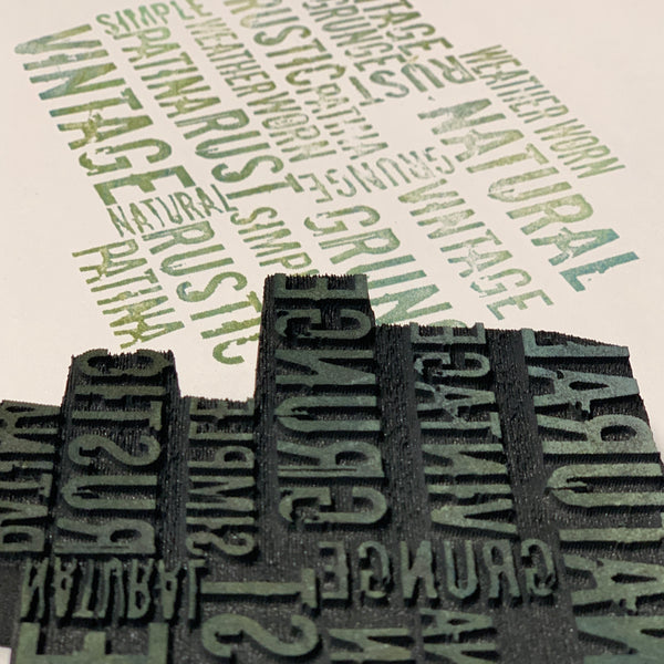 Cat Kerr | Rustic Words | Foam Stamp