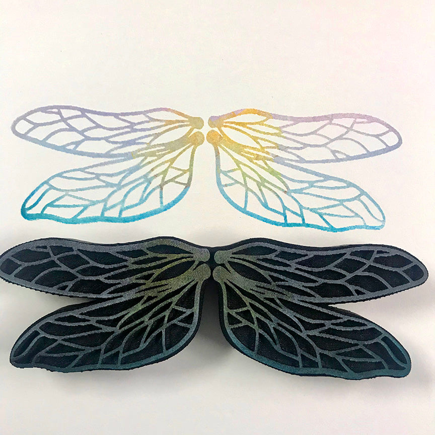 Candy Rosenberg | Dragonfly Wings | Foam Stamp