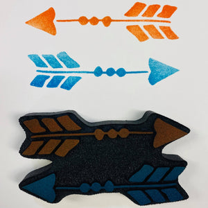 Gina Ahrens | Arrows | Foam Stamp