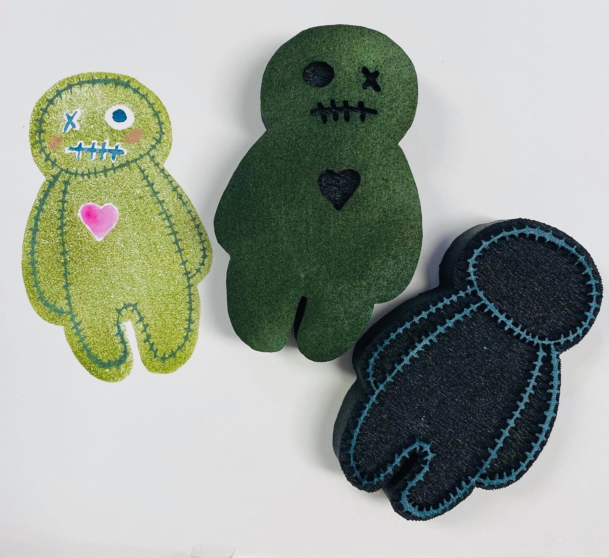 Gina Ahrens | Zombie Dolls | Foam Stamps - Set of 2