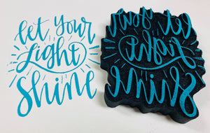 Gale Nation | Let Your Light Shine | Foam Stamp