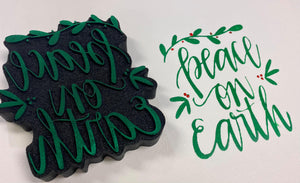 Gale Nation | Peace on Earth | Foam Stamp