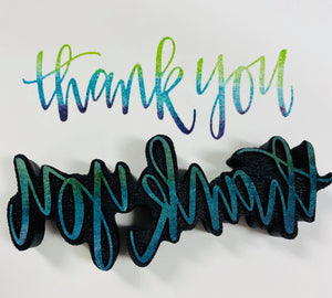 Gale Nation | Thank You | Foam Stamp