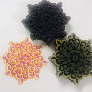 Gypsy Soul | Moroccan Ornaments | Foam Stamps - Set of 2