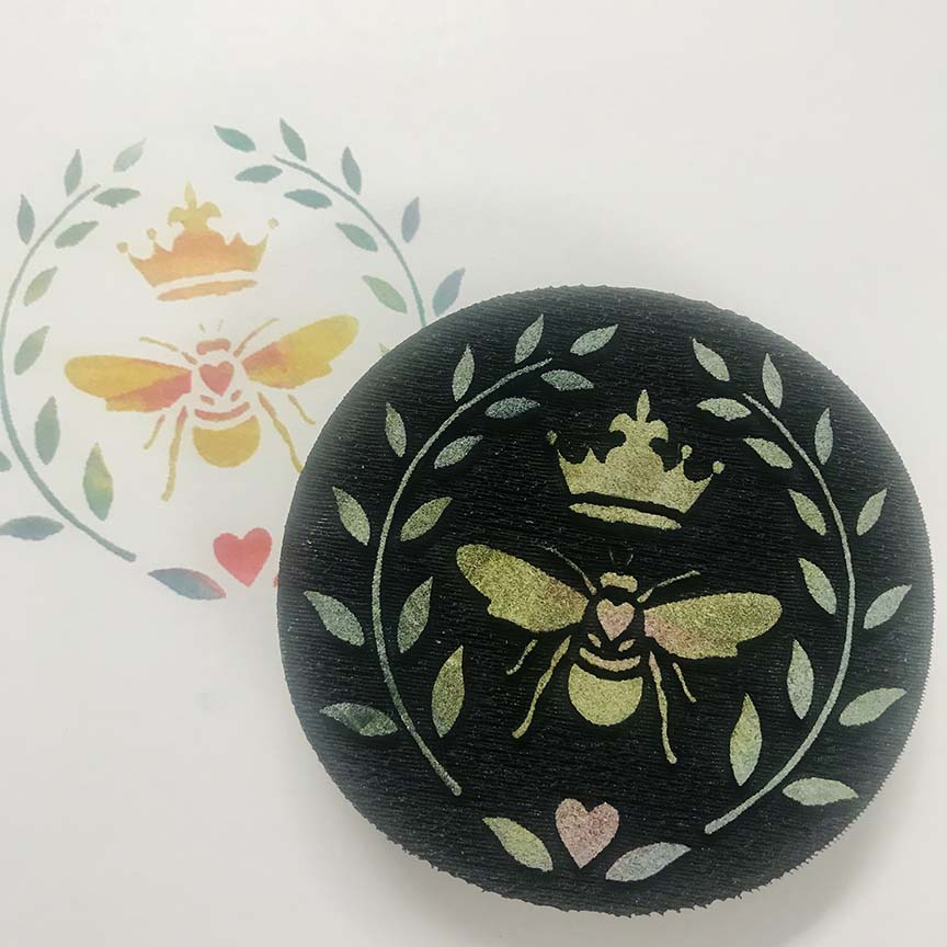 Gypsy Soul | Queen Bee | Foam Stamp