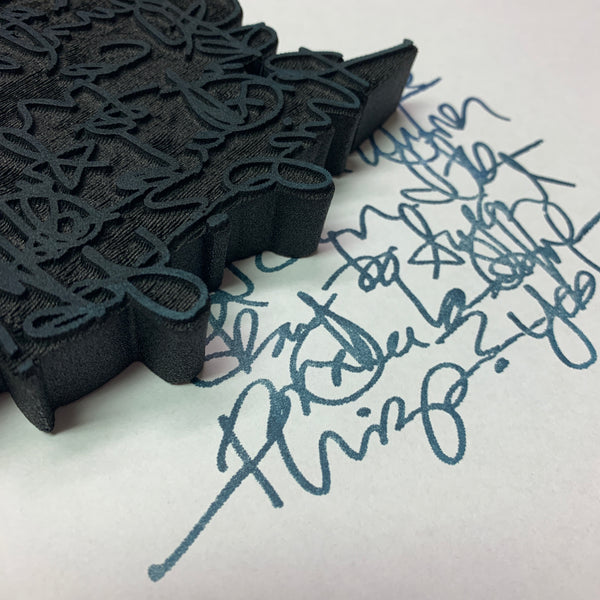 Balzer Designs | Writer's Block | Foam Stamp