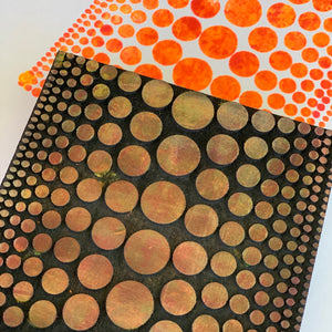 Balzer Designs | Gradient Polka Dot | Foam Stamp