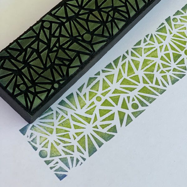 Balzer Designs | Stained Glass | Foam Stamp