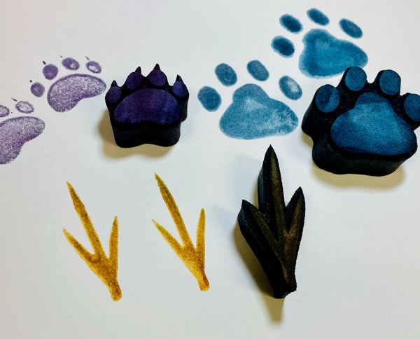 Kae Pea | Animal Tracks | Foam Stamps - Set of 3