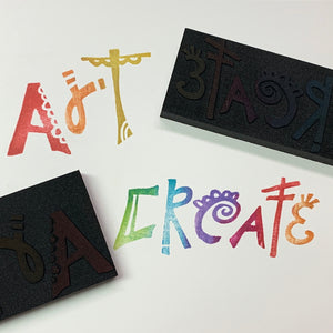 Einat Kessler | Create Art | Foam Stamps - Set of 2