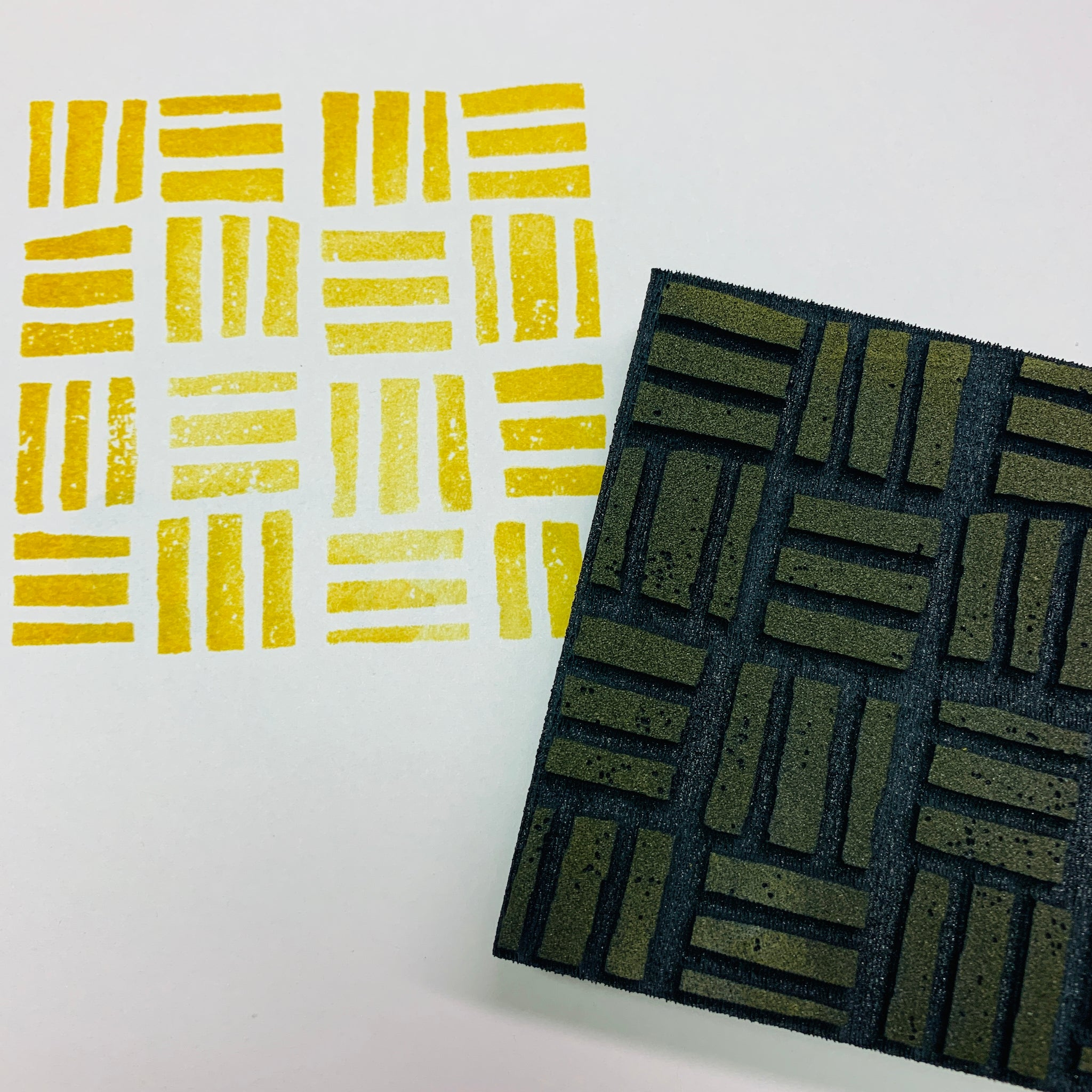 Sarah Matthews | Kente Cloth | Foam Stamps - Set of 2