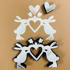 Jone Hallmark | Hoppy Heart | Foam Stamp